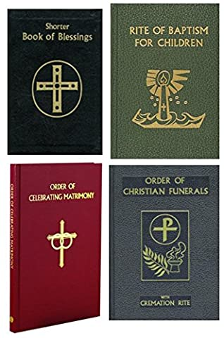 Deacon's Set of Ritual Books (Catholic Deacon Gifts)