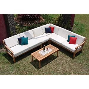 51DESDqjdaL._SS300_ Best Teak Patio Furniture Sets