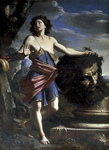 - Cerrinigiovanni Domenico (1609-1681) David With GoliathS Head Baroque Art Oil On Canvas Italy Rome Galleria Spada (Spada Gallery) ? AisaEverett Collection (110203) Poster Print (18 x 24)