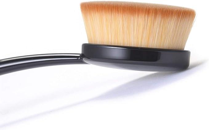 Amazon.co.jp: Rosy Rosa Perfect Pour Cover Brush, Makeup Brush, 1 Piece:  Beauty