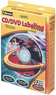 Amazon fellowes cd label kit 99940 label makers office fellowes cd label kit 99940 maxwellsz