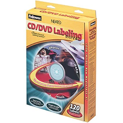 Fellowes NEATO® CD/DVD Labeling System - Etiquetas de ...