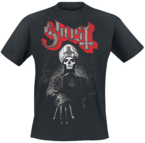 Noir Ring Manches Courtes Ghost Photo T shirt xSdYnOwq