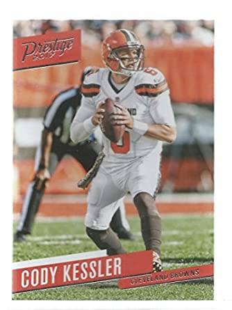 low priced 71bf1 93b09 Amazon.com: Football NFL 2017 Prestige #172 Cody Kessler ...