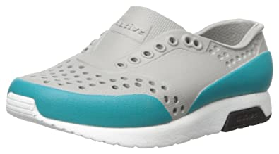 5cedb68226335 Native Kids Kids' Lennox Block Slip-on, Pigeon Grey/Shell White ...