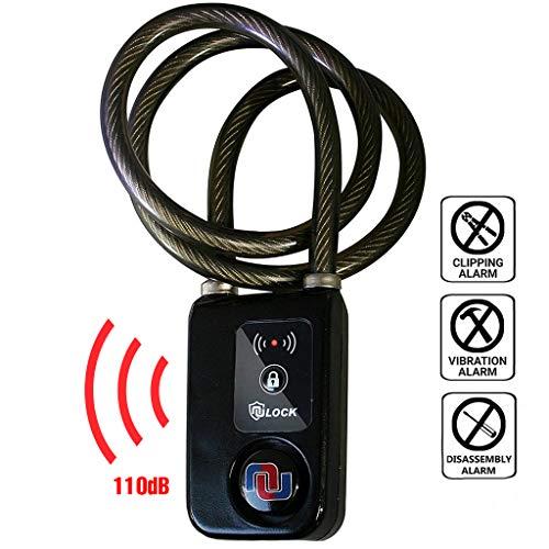 Nulock Keyless Bluetooth Bike/Motorcycle/Gate L...