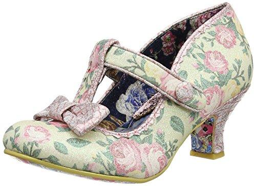 col Pink Tacco Donna Cinturino T a Floral Irregular con River Lazy Scarpe Pink Choice fwHqIxP