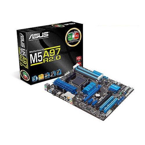 Asus M5A97 R2.0 Mainboard (Sockel AM3+, ATX, AMD, 4x DDR3 Speicher, 6 x SATA 6Gb/s, 4 x USB 3.0, 12 x USB 2.0, PCIe 2.0)