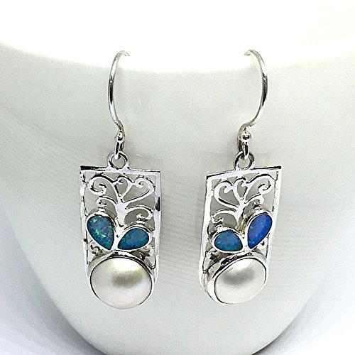 handmade 925 sterling silver earrings with premium for sale  Delivered anywhere in USA