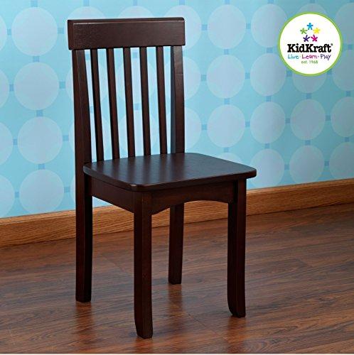 Galleon kidkraft avalon chair for children espresso for Lit kidkraft