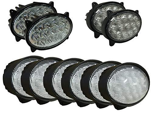 - Complete LED Light Kit for John Deere 20 Series Tractors - Fits Models 8120, 8220, 8320, 8420, 8520, 9120, 9220, 9320, 9420, 9520, 9620
