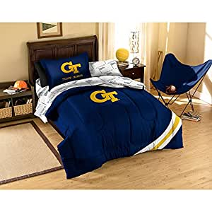 NCAA Georgia Tech Bedding Set, Twin