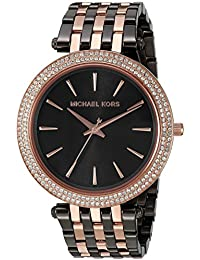 Women's Darci Grey Rose Gold-Tone Watch MK3584