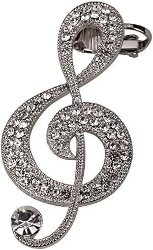 Szxc Jewelry Women's Music Note Wrap Cuff Earrings for Left Ear Pierced