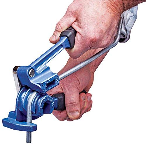 Eastwood Triple Head 180 Degreess Tubing Bender 3/16-3/8 in. Tool Supply Imperial Roto-Lok Tube Bender by Eastwood