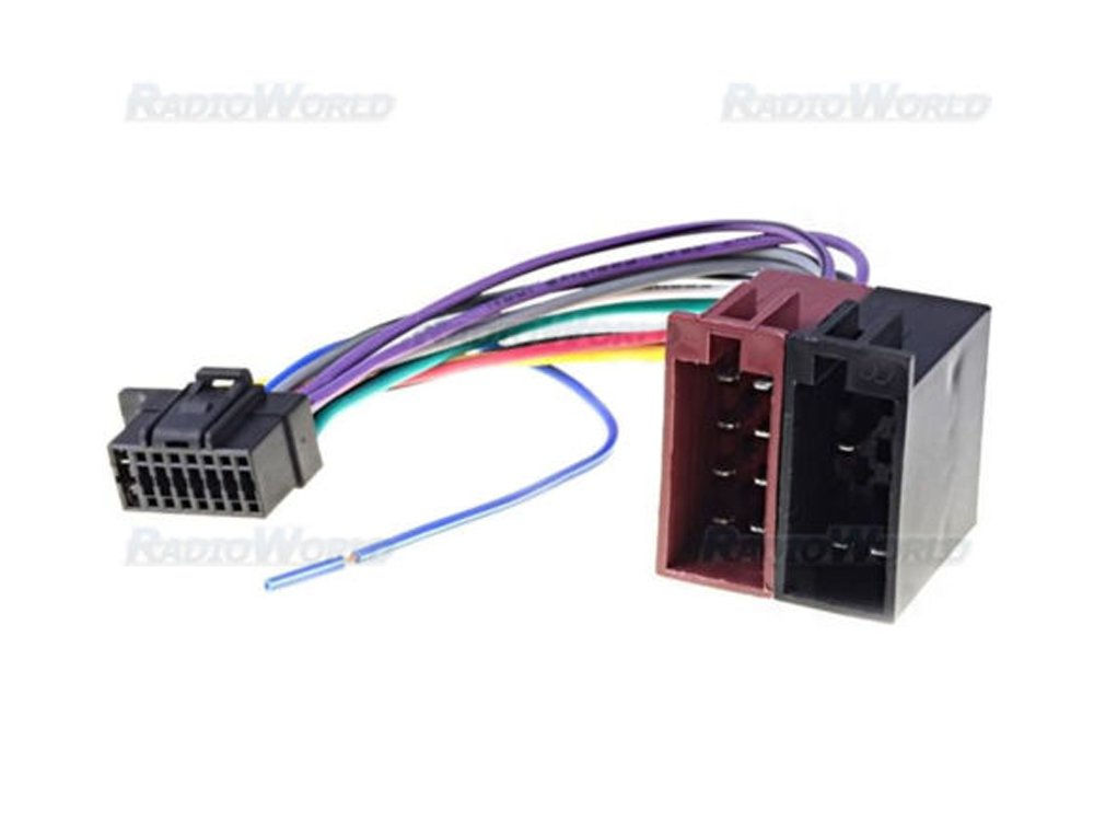 51DEVSRFqpL._SL1000_ iso wiring harness connector adaptor for sony 16 pin amazon co uk sony 16 pin wiring harness at gsmportal.co
