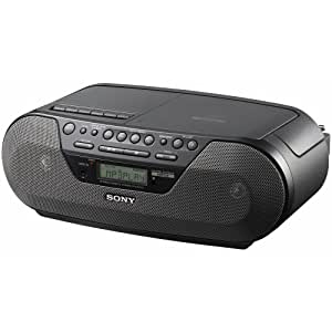 Sony - Boombox - radio / CD MP3/ cassette (CFD-S07CP)