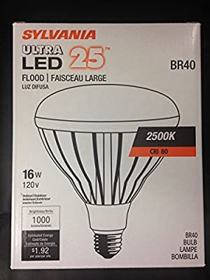Sylvania 78627 - LED16BR40/DIM/825 BR40 Flood LED Light Bulb