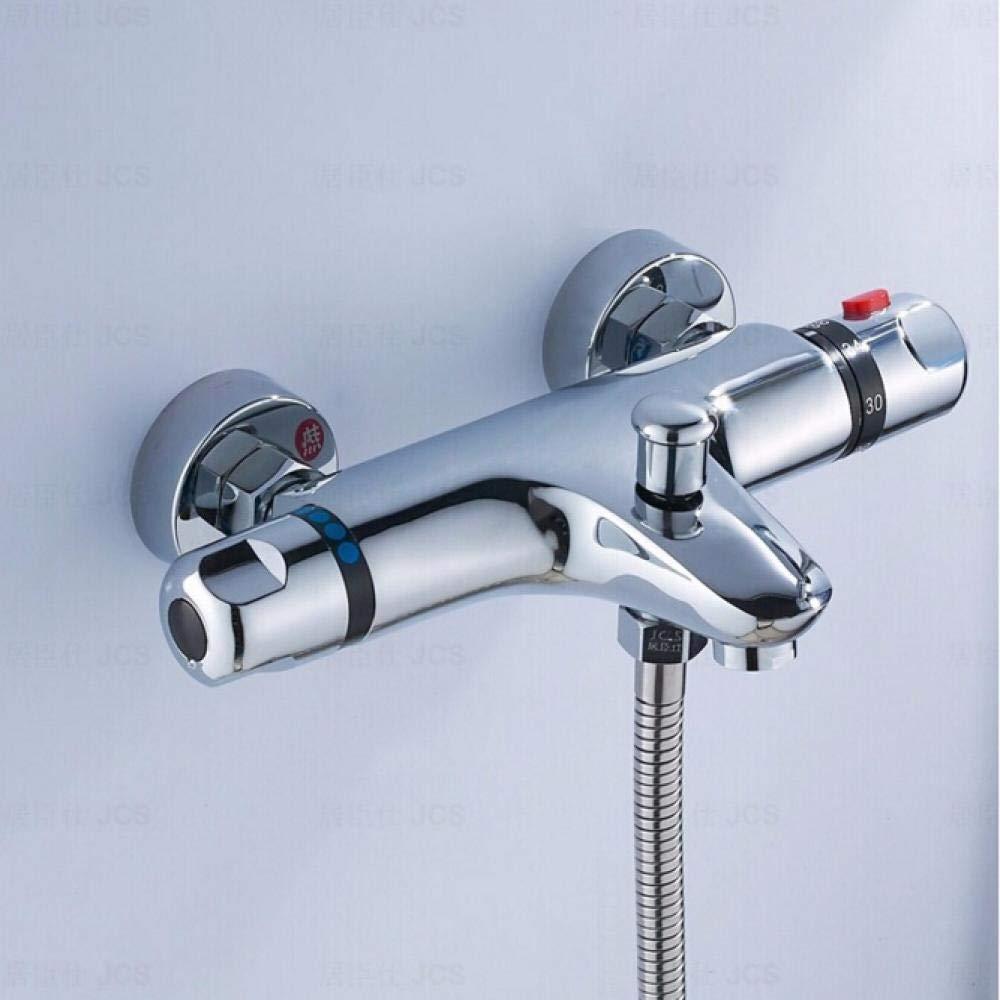 QFSLT brass chrome wall mounted bathroom thermostatic faucetthermostatic bathroom shower faucetbathtub faucet