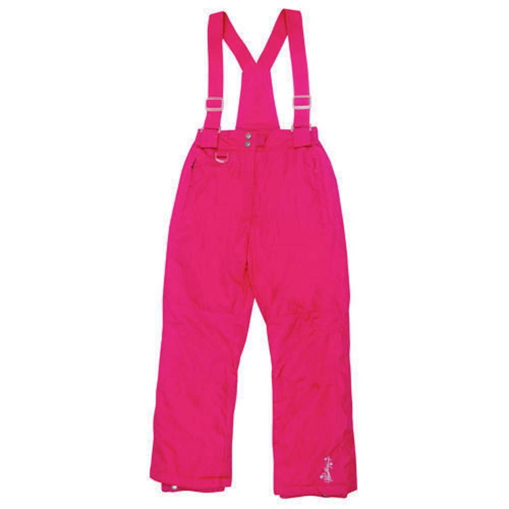 Weatherproof 32 Degrees Girls Ski Snow Pant with Zip Off Bib & Brace in Cherry Pink 27 to 29 Waist L To Fit Ages 14 15 16 Years 653379