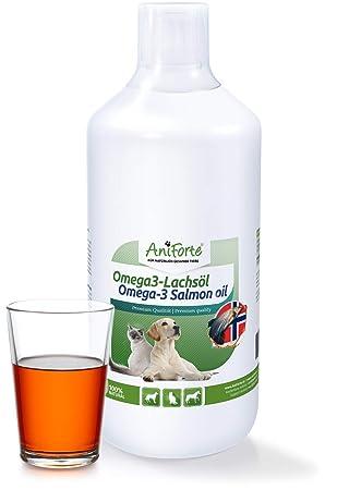 Aceite de Salmón para Perros, Gatos y Caballos (1 Litro) | 100%