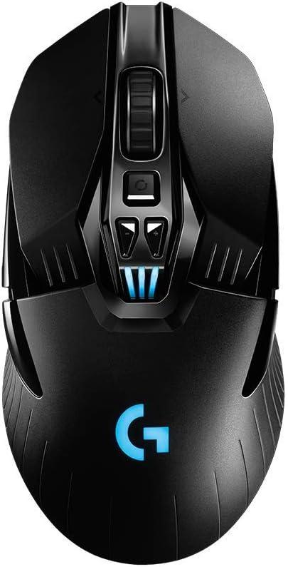 Logitech - Ratón inalámbrico para Videojuegos con Powerplay (Recargable) Negro G903