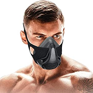 FaroDor Training Mask Oxygen Sport Fitness Mask 24 Breathing Resistance Levels and Imitate Workout at High Altitudes for…