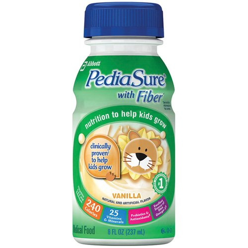 Abbott Nutrition Pediasure Nutritional Supplement with Fiber R, L53585, 1 Pound