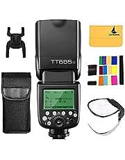 Godox TT685C TTL Camera Flash Speedlite 2.4G HSS 1/8000s GN60 for Canon EOS 5D Mark III 5D Mark II 6D 7D 60D 50D 40D 30D 650D 600D 550D 500D 450D 400D 1100D 1000D