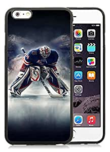 iPhone 6 Plus 5.5 Inch TPU Case ,Unique And Fashionable Designed Case With Easton Mako Ice Hockey Skates Black For iPhone 6 Plus Cover Phone Case