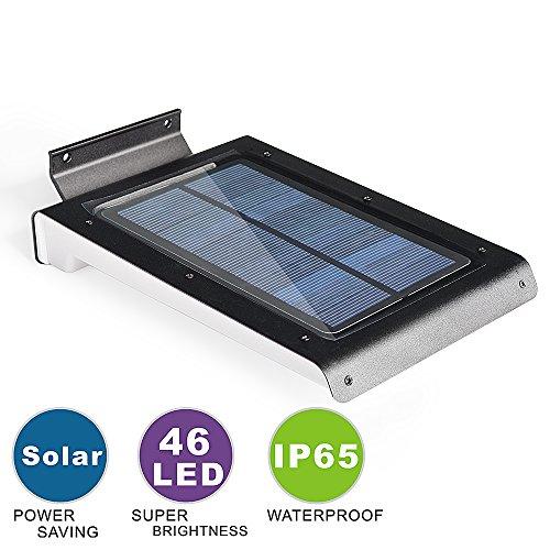 ASSEM Motion Sensor Light Outdoor Lighting 46 LED Solar