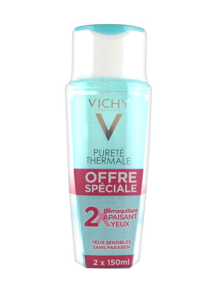 Vichy Purete Thermale Sensitive Eyes Make-up Remover 2X150ml