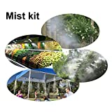 Hylaea Water Brass Misting Nozzle, Outdoor Mist