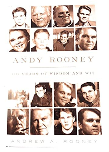 Andy Rooney 60 Years Of Wisdom And Wit Large Print Andrew A Rooney