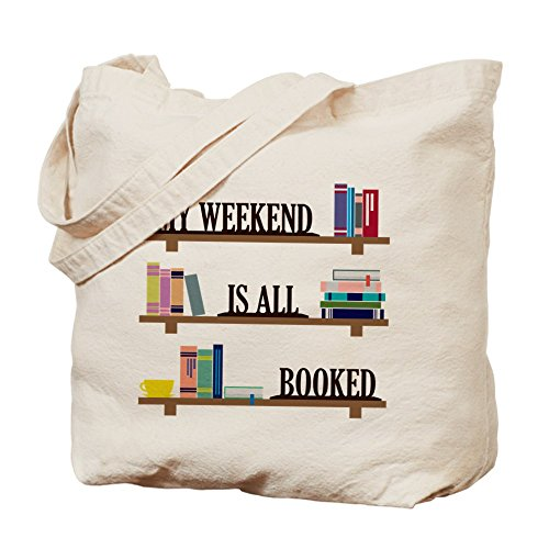 CafePress - Gilmore Girls: Book Lovers - Natural Canvas Tote Bag, Cloth Shopping Bag