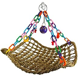 Bonka Bird Toys 1958 Large Platform Swing Bird Toy parrot cage toys cages african grey play gym