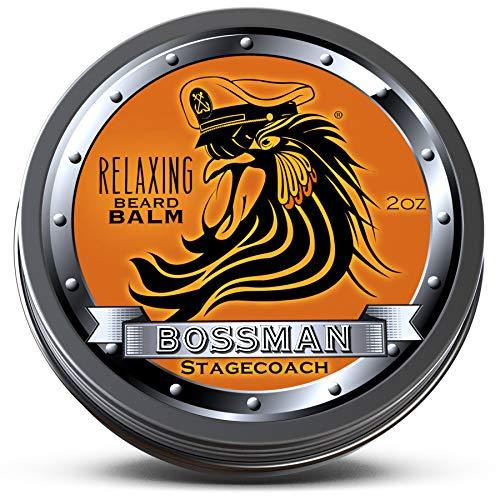 Boss Scented Shower Gel - Bossman Relaxing Beard Balm - Nourish, Thicken and Strengthen Your Beard (Stagecoach)