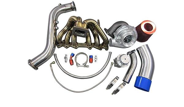 GT35 Turbo Kit Manifold Downpipe Intake For 1JZGTE 1JZ-GTE