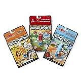 Melissa & Doug Wow-Water Reveal Pad Bundle-Farm, Safari & Under the Sea Educational Toy, Multi