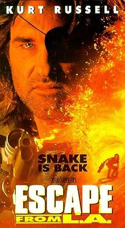 Amazon.com: Escape From La [VHS]: Kurt Russell, A.J. Langer, Steve ...
