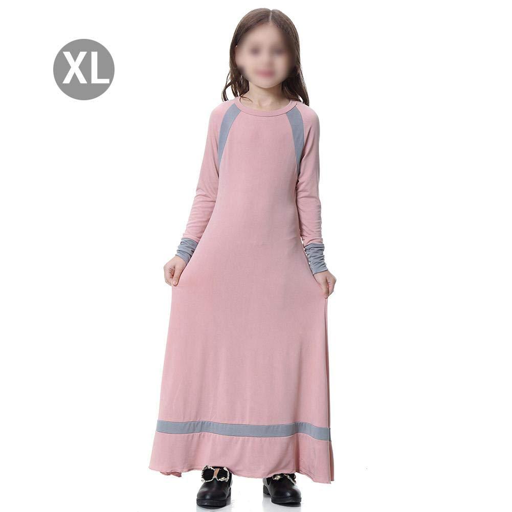 hifuture - Falda Musulmana para niña, Estilo árabe, Medio ...