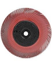 Scotch-Brite(TM) Radial Bristle Brush, Aluminum Oxide, 6000 RPM, 6 Diameter x 7/16 Width, 200 (Pack of 1)