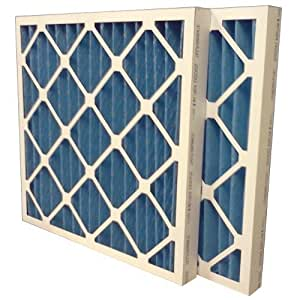 """US Home Filter SC40-12X20X2 MERV 8 Pleated Air Filter (Pack of 6), 12"""" x 20"""" x 2"""" by Midwest Supply Inc"""