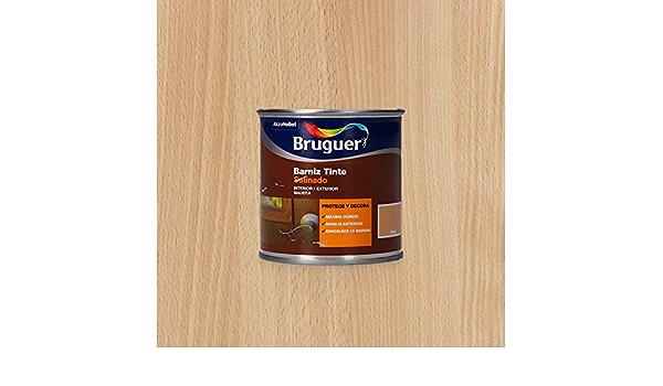 Bruguer Barniz Tinte Sat.BRUGUER Haya 750 ML, Negro: Amazon ...