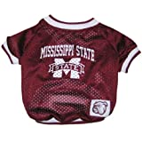Mirage Pet Products Mississippi State Bulldogs Jersey for Dogs and Cats, Medium Review