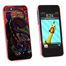 Graphics and More Dragon Red - Fantasy - Snap-On Hard Protective Case for Apple iPhone 5/5s - Non-Retail Packaging - Red
