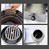 XLOO Indoor and Outdoor Heater,Cylinder Stove Hot