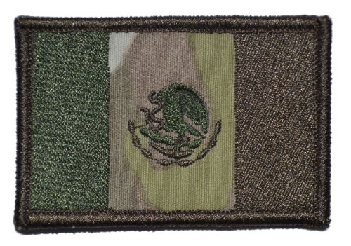Flag of Mexico 2x3 Morale Patch - Multiple Colors - Multicam