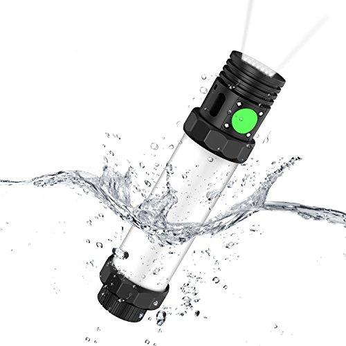 OUTXE Rugged Lantern Flashlight 2600mAh