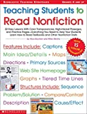 Teaching Students to Read Nonfiction: Grades 4 and Up: 22 Easy Lessons With Color Transparencies, High-Interest Passages, and Practice ... Texts (Scholastic Teaching Strategies)
